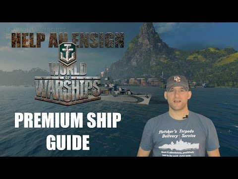 World of Warships Premium Ships