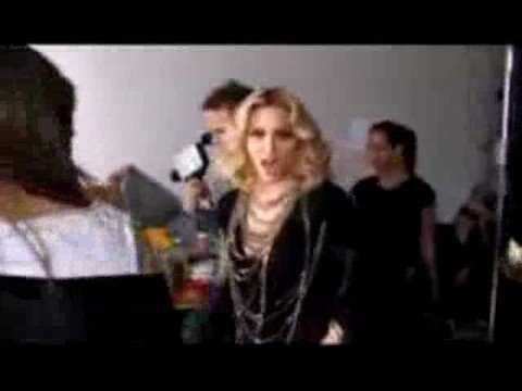 """MADONNA  sing """"BIG SPENDER"""" during GIVE IT 2 ME video"""