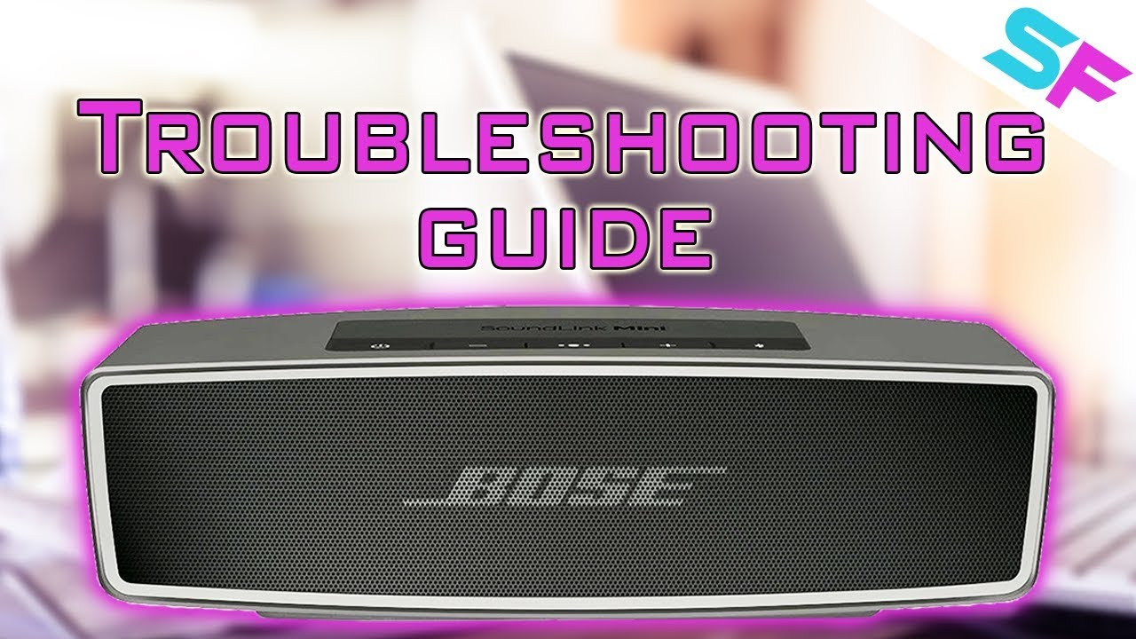 How to Fix Bose SoundLink Mini 2 not charging, not turning on, not working,  red light flashing
