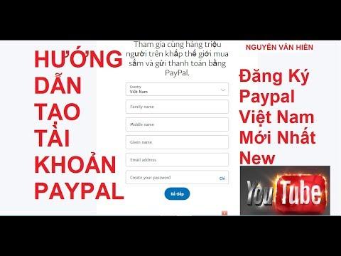 Hướng Dẫn đăng Ký Tài Khoản Paypal Liên Kết Ngân Hàng Không Cần Visa - Master Card Mới Nhất