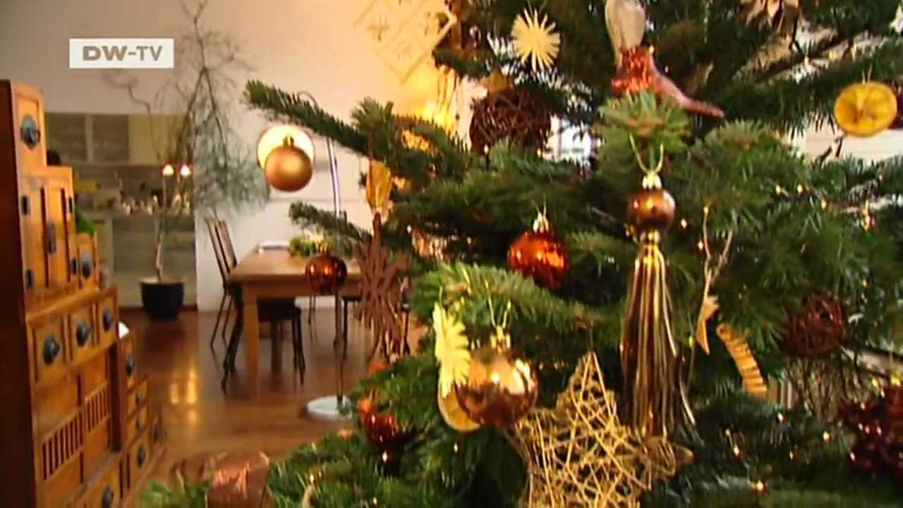 der perfekt geschmckte weihnachtsbaum euromaxx auftrag frohes fest youtube - Christbaum Schmucken Beispiele