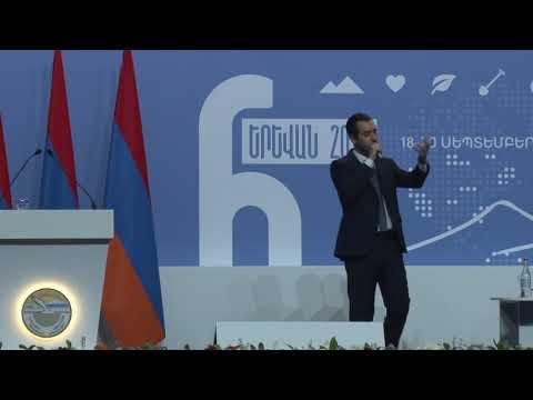 Armen Avak Avakian's speech at Arm Diaspora forum