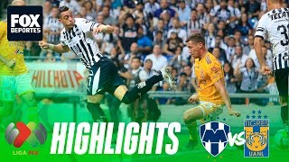 Rayados 1-1 Tigres | HIGHLIGHTS | Jornada 10 | Liga MX