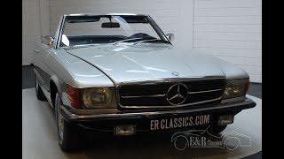 Mercedes-Benz 350SL Cabriolet 1971 Very nice condition -VIDEO- www.ERclassics.com