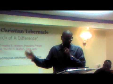 Bishop Chris Tyson Pt.1