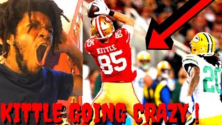 49ERS VS PACKERS REACTION NFL WEEK 12 HIGHLIGHTS - KITTLES OUT HERE GOING CRAZY !
