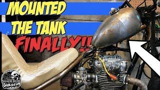 Weld on Chopper Gas Tank | XS650 Chopper Build Series Part 9