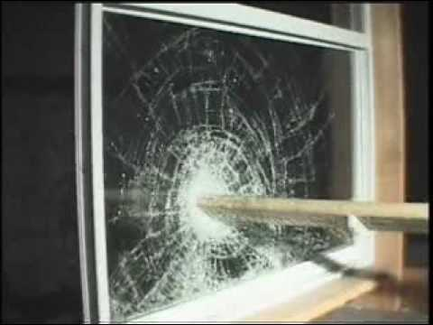 Large Missile Impact Test On A Window Youtube