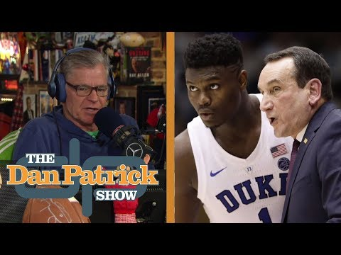 Mike Krzyzewski raves about Zion Williamson's talent, teamwork | The Dan Patrick Show | NBC Sports