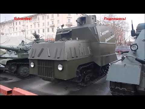 Военная техника на вокзале Мурманска