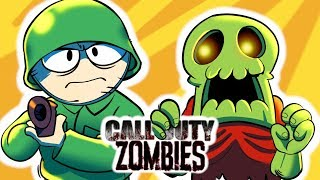 If CALL OF DUTY ZOMBIES was Realistic (Animation)