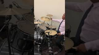 Ryan Strickland on drums at Revival Fire 111th COGIC Holy Convocation