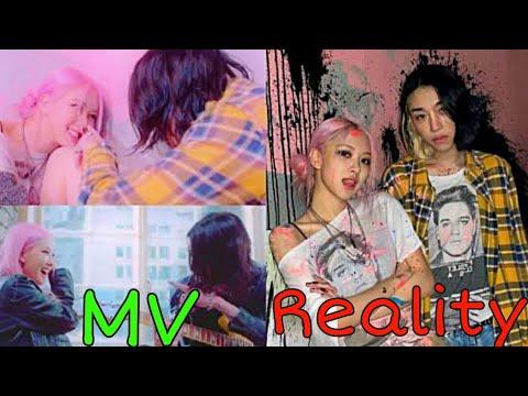 Download Rose Lovesick girls MV Vs Reality #rose #blackpink  #kifg