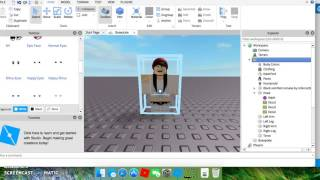 ROBLOX: How to change your models face :D