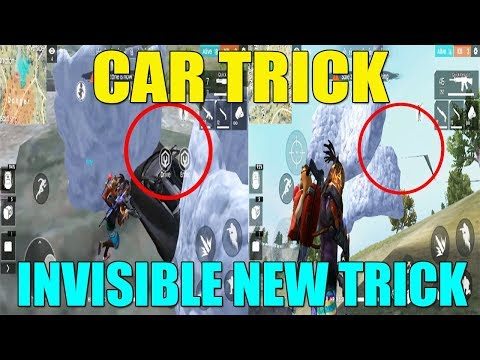 FREE FIRE INVISIBLE NEW TRICK || 100% WORKING || NEW FREE FIRE TRICKS AND TIPS