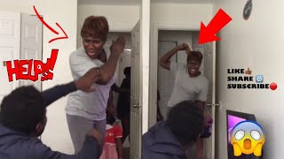 MAKING A LOT OF NOISE PRANK || SHE HIT ME WITH A SHOE...