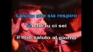 Rocco Service - Franco Simone - Respiro - karaoke con cori
