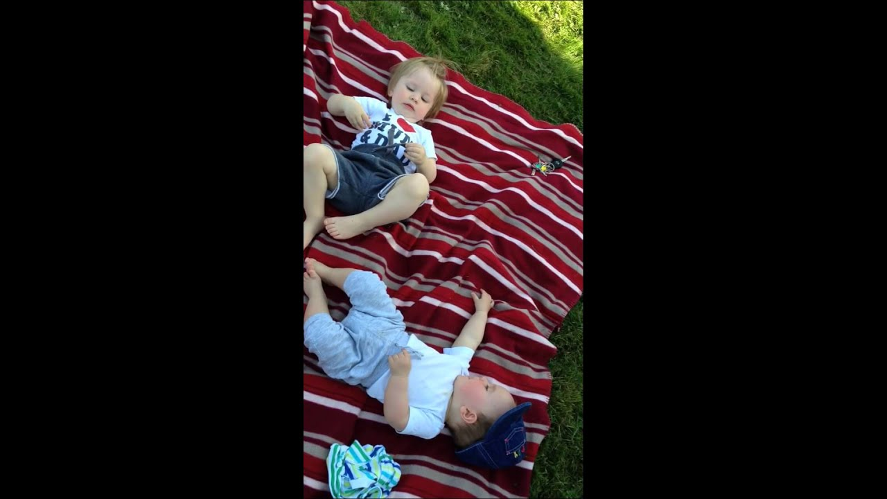 Noah si Lukas la plaja, discuta in legea lor