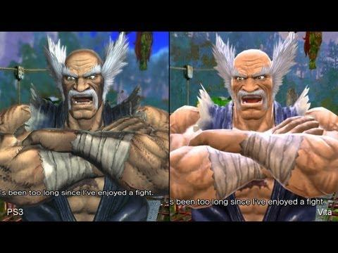 Street Fighter X Tekken: PS Vita Vs. PlayStation 3 Comparison