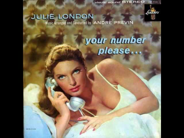 Julie London - The More I See You  1959