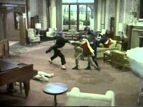 Classic Batman Fights the Penguin