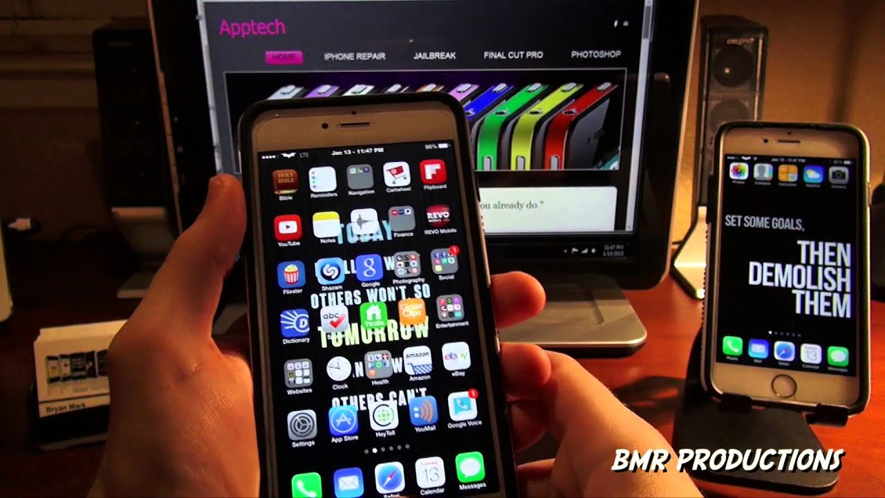 how to do split screen on iphone iphone 6 amp 6 plus true multitasking split screen 5549