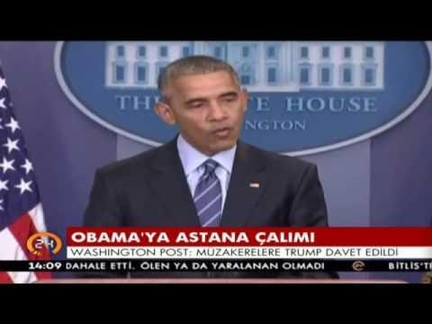 Obama'ya Astana çalımı
