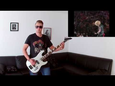 Guns N Roses – Duff Mckagan Bass Solo (Tokyo 1992) Cover