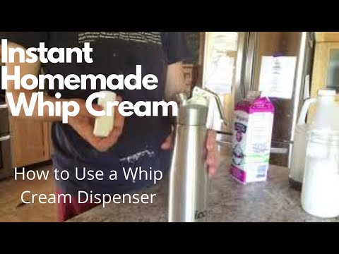 WHIP CREAM READY WHEN I WANT IT?!//how I Fill Up My Whip Cream Dispenser