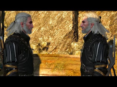 Geralt Cuts Doppler Janne's Head as Trophy. All Options (Witcher 3 Contract Quest | Elusive Thief)