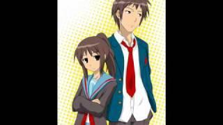 Suzumiya Haruhi No Yuutsu OST - Hare Hare Yukai Duet - By Kyon and Kyonko