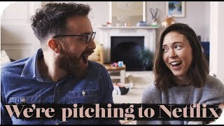 WE'RE PITCHING A TV SHOW TO NETFLIX & AMAZON PRIME | THE MICHALAKS