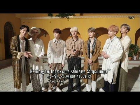 [INDO SUB] BTS - Airplane Pt.2 Japanese ver. MV Making  Behind the Scene