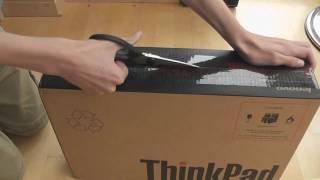 Unboxing - Lenovo Thinkpad L512