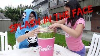 WATERMELON in the face??? 16 Vs 9 watermelon challenge!!!