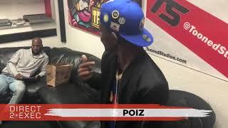 Poiz Performs at Direct 2 Exec Oakland 9/8/18 - Atlantic Records