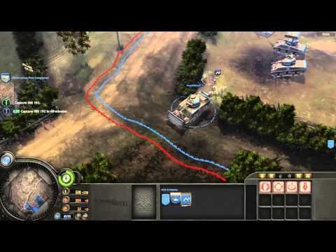 Company Of Heroes Pc 4k Walkthrough Part 9 Hill 192 3840x2160