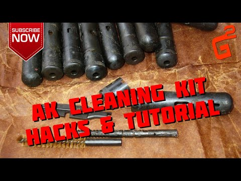 AK 47 Original Cleaning Kit Details and Hacks - An AMAZING Tool