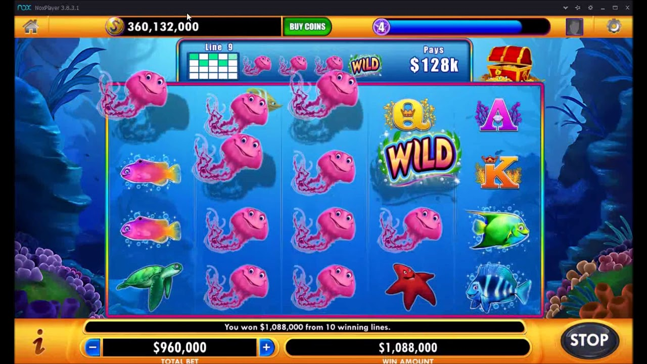 Jackpot Party Casino Slots Unlimited Coins MOD APK