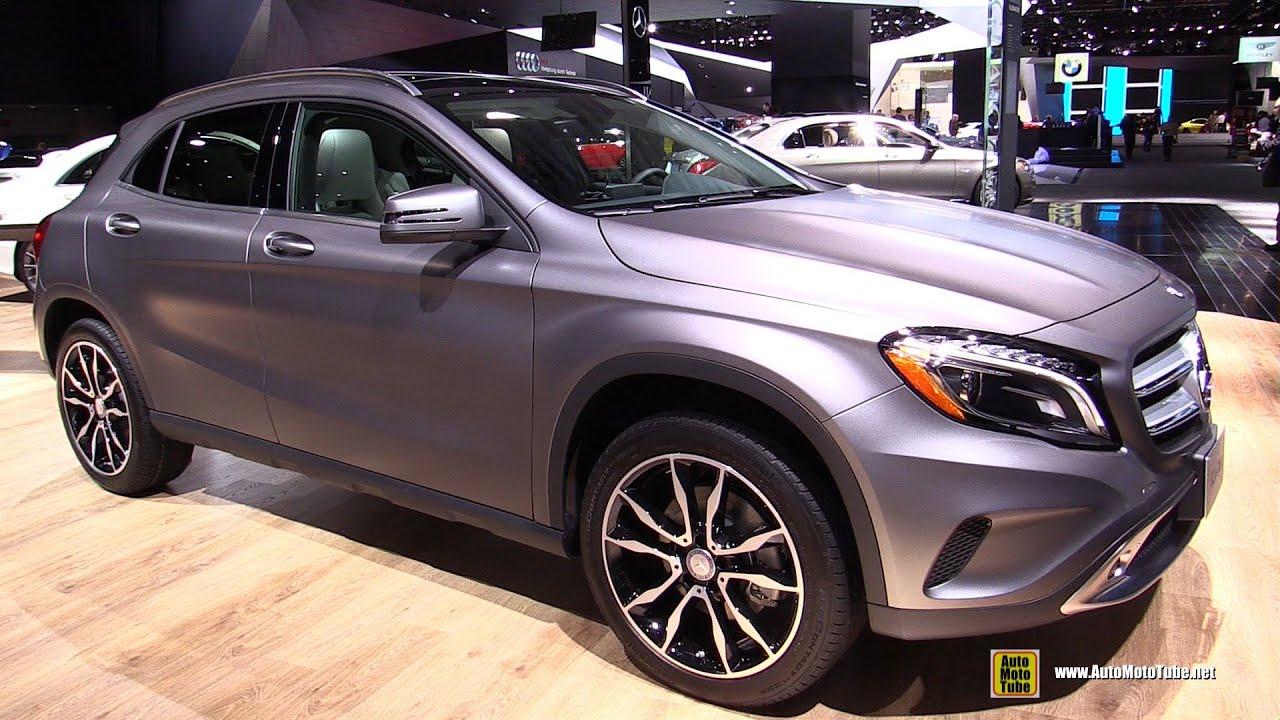 2015 mercedes benz gla class gla250 4matic exterior interior walkaround 2015 detroit auto. Black Bedroom Furniture Sets. Home Design Ideas