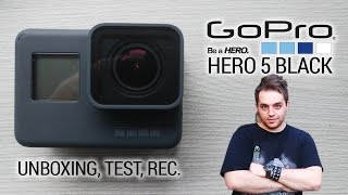KUPIŁEM NAJNOWSZE GOPRO HERO 5 BLACK! Unboxing, test, recenzja