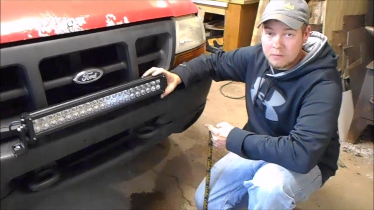 Ford ranger light bar installation youtube ford ranger light bar installation mozeypictures Gallery