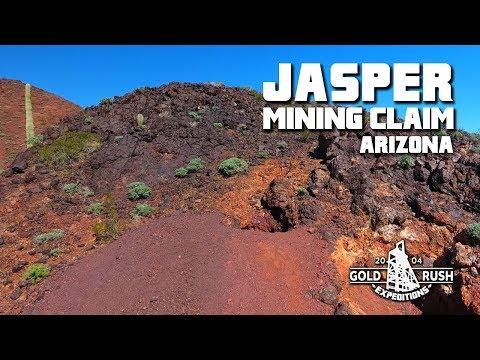 Jasper Gold Mining Claim - Arizona - 2017