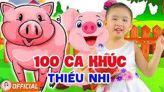 100 Ca Khúc Thiếu Nhi Vui Nhộn Hay Nhất 2020 - Bé Candy Ngọc Hà - Nhạc Thiếu Nhi Cho Bé Ăn Ngon