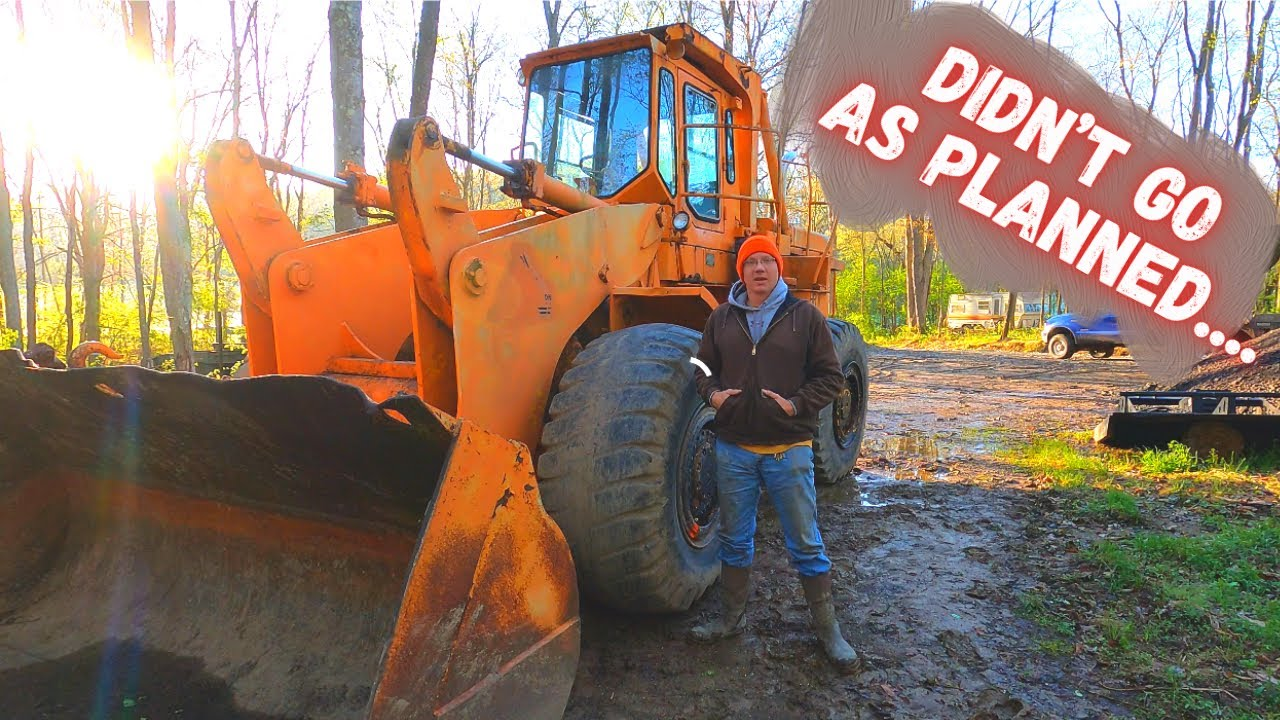 Repairing & steam cleaning 20+ years of Filth off of Abandoned Clark wheel Loader! (ASMR?)