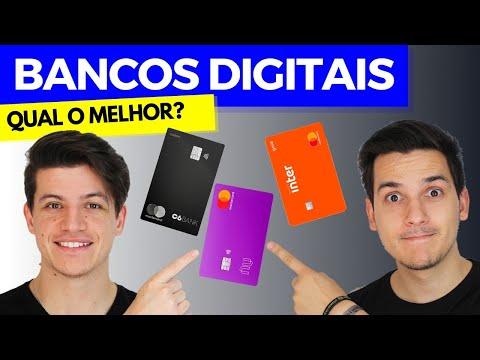 QUAL O MELHOR BANCO DIGITAL?? NUBANK, INTER OU C6BANK?? Comparativo 2020