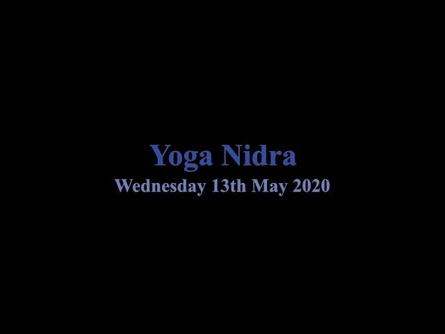Yoga Nidra - 13/5/20