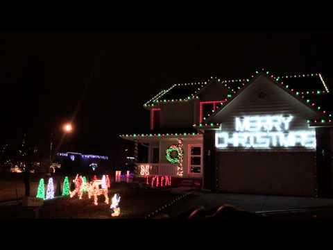 Choreographed Christmas Lights - Omaha