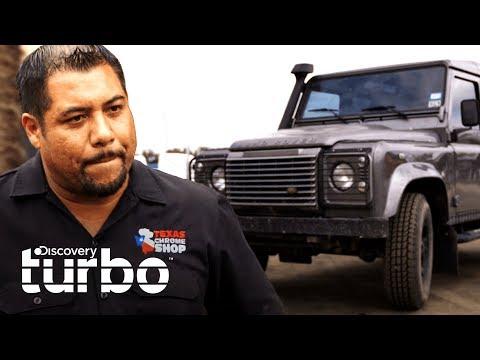 Las piezas del coche de Ricky Muñoz no existen en EEUU | Texas Trocas | Discovery Turbo