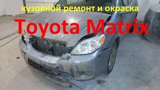 Toyota matrix va Nijniy Novgorod binoni ta'mirlash .Toyota Matrix